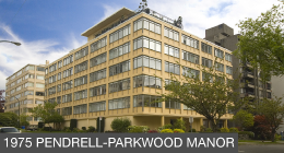 1975 Pendrell - Parkwood Manor Button