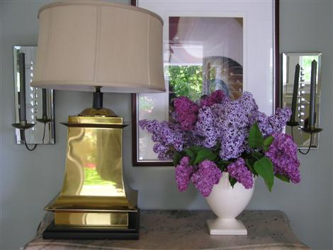 fresh spring lilacs