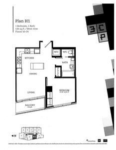 Whalley Condo for sale:  1 bedroom 539 sq.ft. (Listed 2017-10-04)
