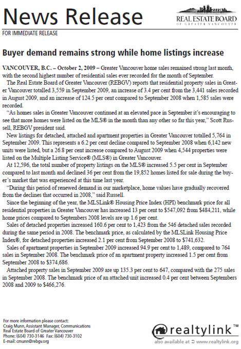 2009-10-REBGV Stats Package