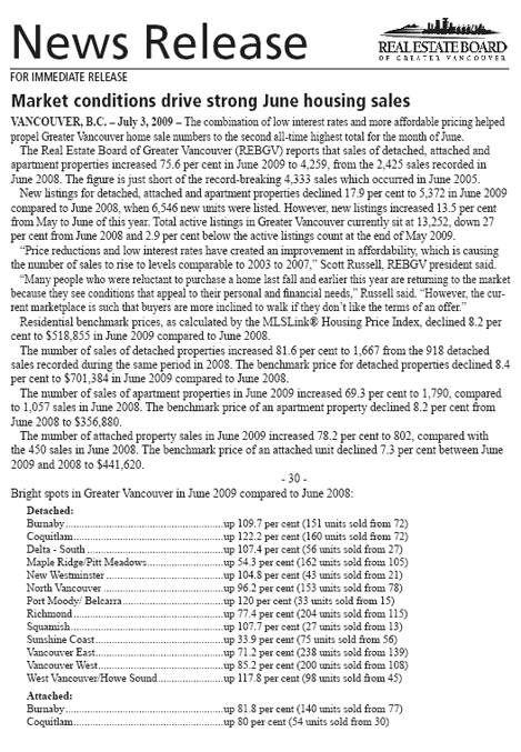 2009-07-REBGV Stats Package