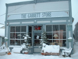 The Garrett front in winter