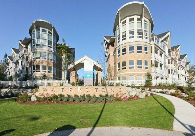 Surrey Condo for sale: Waterstone 1 bedroom 598 sq.ft. (Listed 2012-02-06)