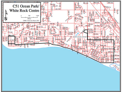 Map of ocean park white rock