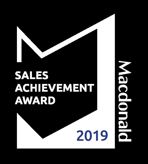 Macdonald Realty Sales Achievement Award 2019
