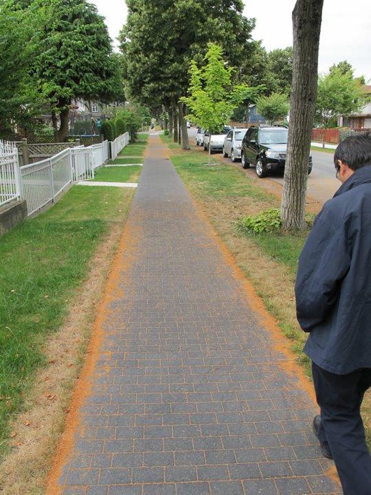 Rubber Sidewalk Man