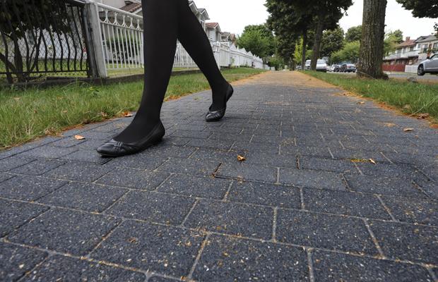 Rubber Sidewalk Shoes
