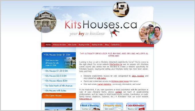 Kits Houses Website