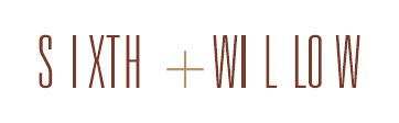 Sixth + Willow Logo