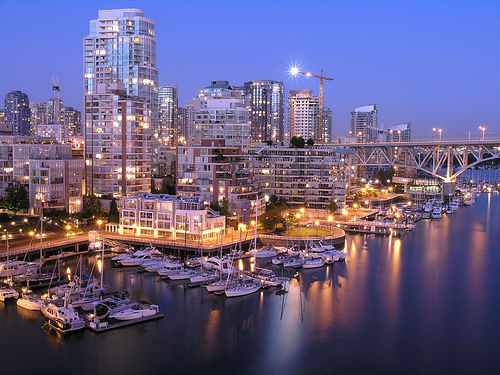 Downtown Vancouver - Evening