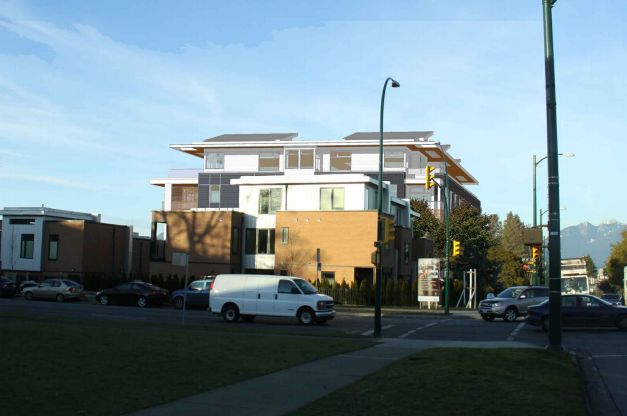 4867 Cambie Street Condo Rendering Sideview