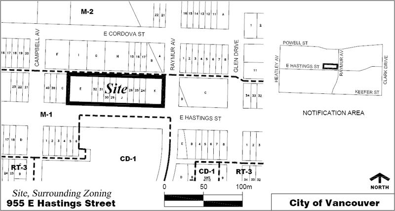 955 E. Hastings Condo Development Site