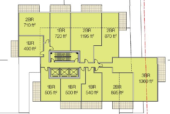 Oakridge Gateway Floorplan