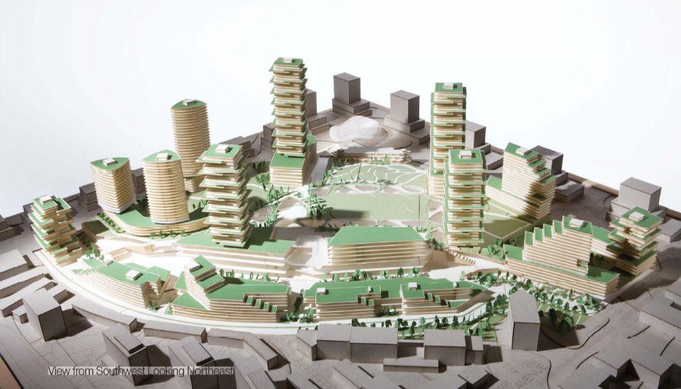 Oakridge Redevelopment Model