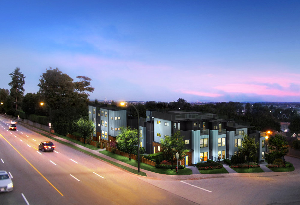 Anchor Mills Townhomes Night