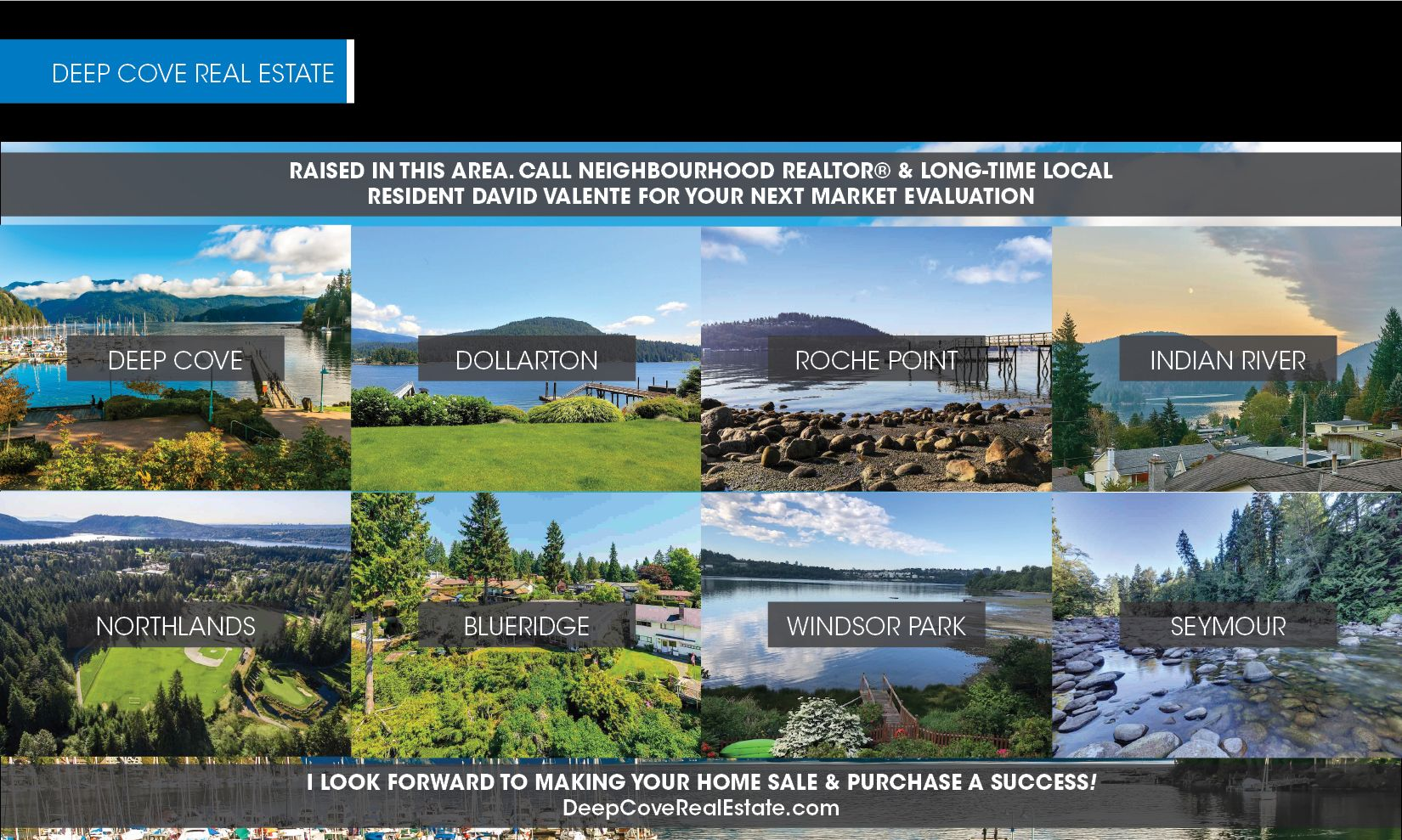 Deep Cove Real Estate - Realtor David Valente - Listings - Sold - Deep Cove - Dollarton - Roche Point - Indian River - Northlands - Blueridge - Windsor Park - Seymour - Homes For Sale