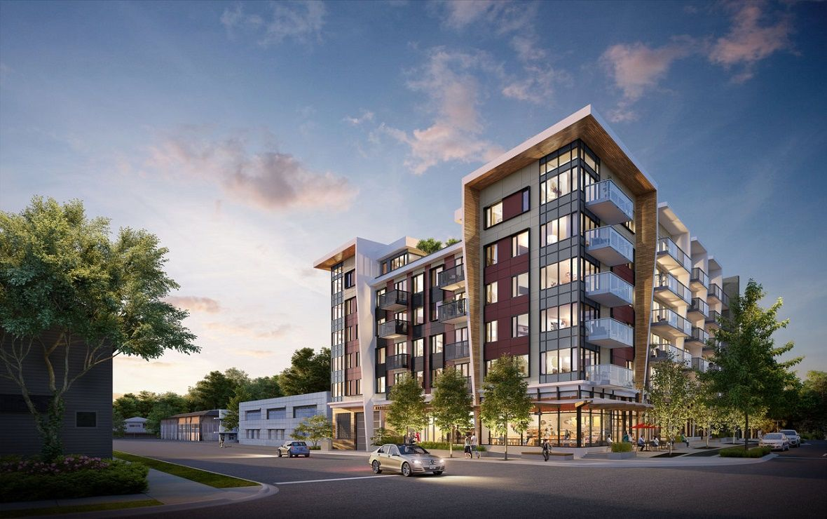 Lynnmour Condo: 605 467 Mountain Hwy, BrookLynn, North Vancouver, BC, Canada, New Construction, Sold