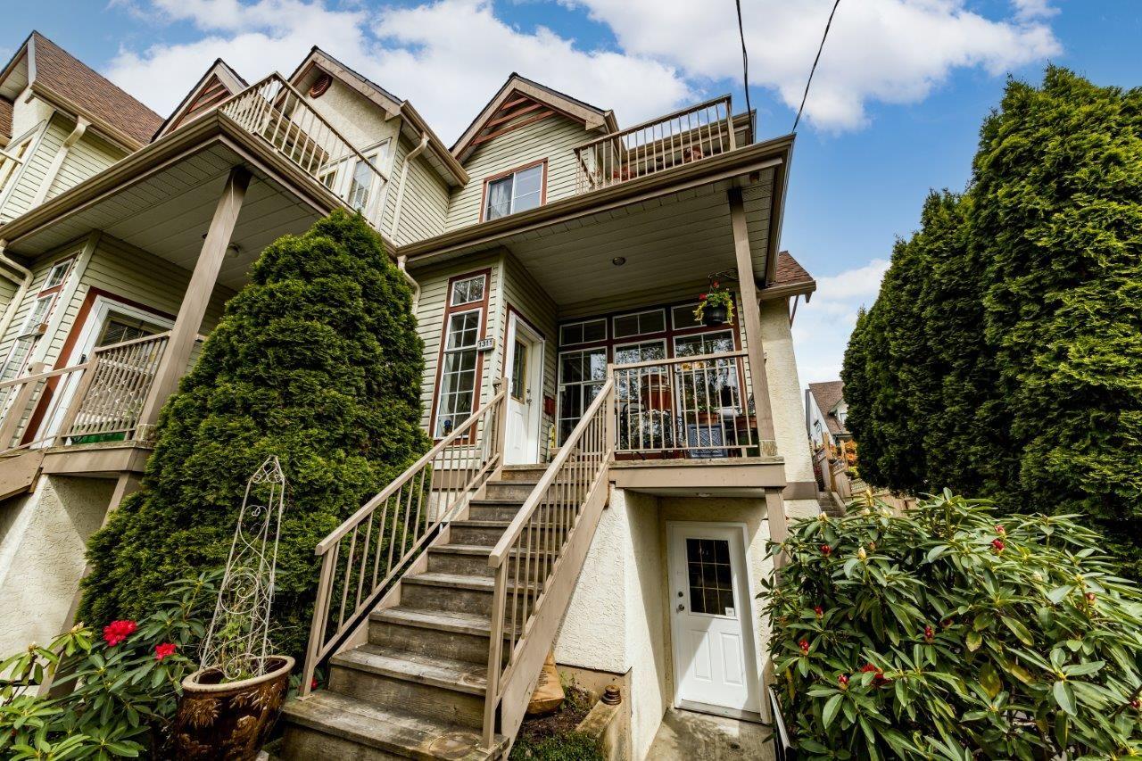 Coquitlam, Maillardville Townhouse For Sale: 2 bedroom, 2 bathroom, 1311 Brunette Avenue, custom renovations, Real Estate, David Valente, Realtor