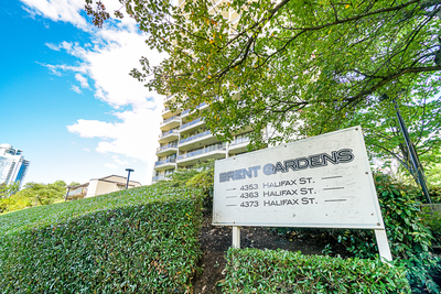 Brentwood Park CONDO for sale: BRENT GARDENS 2 bedroom 940 sq.ft. (Listed 2019-09-30)