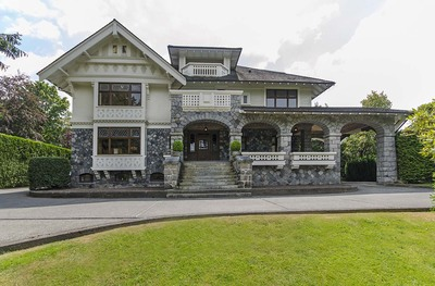 First Shaughnessy  4 Level for sale:  5 bedroom 10,053 sq.ft.