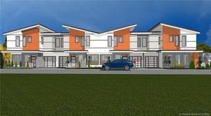 Kelowna South Fourplex for sale:  3 bedroom 1,300 sq.ft. (Listed 2018-04-19)