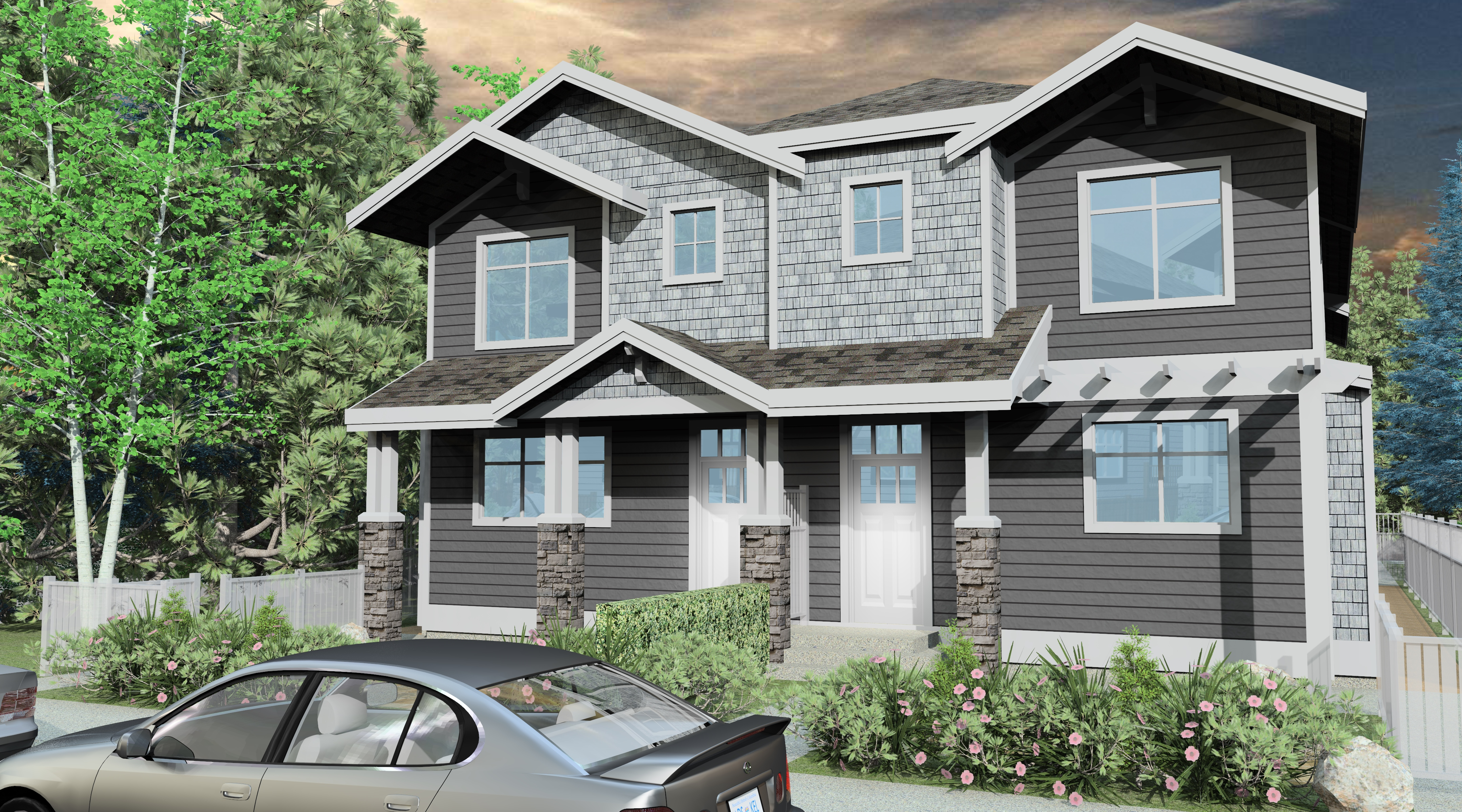 kelowna north fourplex for sale: stockwell 20 3 bedroom 1,243 sq ft   (listed 2018-05-31)
