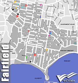 Fairfield Real Estate and Map