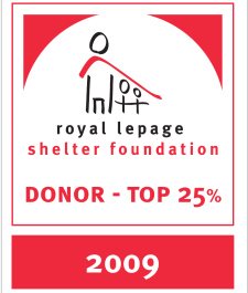 Royal LePage Top Donar 2009