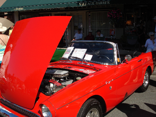 Oak Bay Collector Car 1966 Sunbeam Tiger