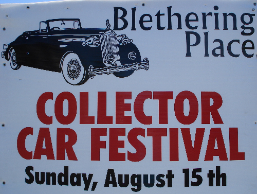 Blethering Place Collector Car Festival 2010
