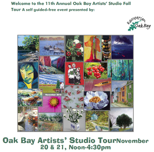 Oak Bay Artists Tour 2010
