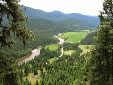 Westbridge BC Land OUT of the ALR for sale, river view