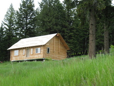 Rock Creek Cabin on Acreage for sale:   875 sq.ft. (Listed 2008-06-25)