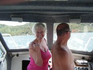 NZ Rotorua boat