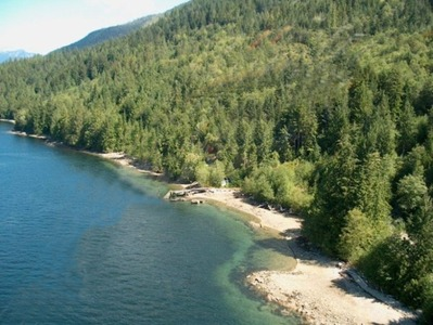 Phillips Arm, Cordero Channel Oceanfront Acreage for sale:    (Listed 2013-01-21)