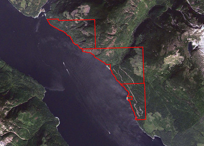 Sunshine Coast Oceanfront Timber Acreage for sale: (Listed 2017-10-02)