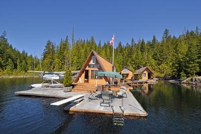 frogpond lake floating lake cabin
