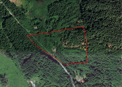 Quadra Island Acreage with Unfinished Home for sale: (Listed 2018-03-15)