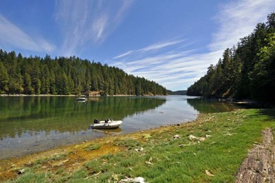 Cortes Island Recreational Oceanfront Acreage for sale: (Listed 2019-03-28)