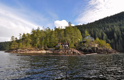 Powell Lake Island with 2 Cabins on Lake for sale: 2 bedroom 864 sq.ft. (Listed 2019-03-29)