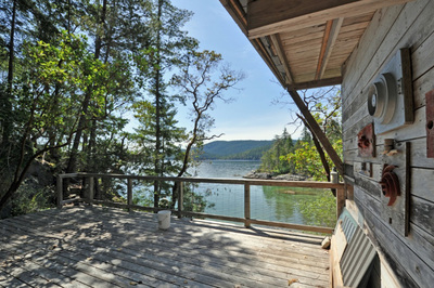 Okeover Inlet Oceanfront Acreage & Cabin for sale: 2 bedroom 1,000 sq.ft. (Listed 2019-08-29)
