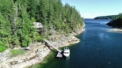 Cortes Island Oceanfront Acreage with Home & Dock for sale: 3 bedroom 1,166 sq.ft. (Listed 2020-07-02)