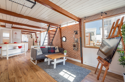 West Cambie Float Home for sale: Richmond Marina 1 bedroom 663 sq.ft. (Listed 2019-06-23)