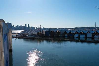 Lower Lonsdale boathouse-apartment for sale: Mosquito Creek Marina 2 bedroom 1,868 sq.ft. (Listed 2020-06-12)