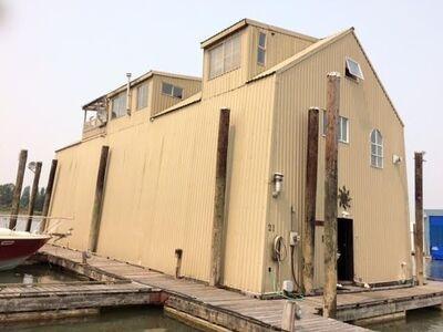 Bridgeport RI boathouse-apartment for sale: Skyline Marina 2 bedroom 1,624 sq.ft.