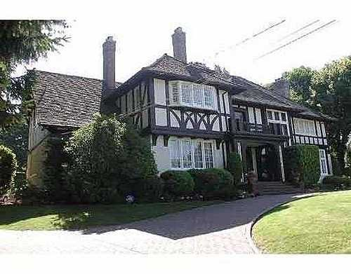 Shaughnessy House for sale:  5 bedroom 6,915 sq.ft. (Listed 2006-05-26)
