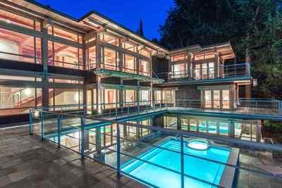 Caulfeild House for sale:  5 bedroom  Stainless Steel Appliances, Granite Countertop, Hardwood Floors 11,264 sq.ft.