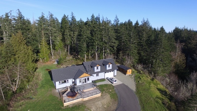 Sooke Real Estate: Gorgeous Ocean View West Coast Family Home on 2.72 Acres For Sale in Sooke - Tim Ayres Royal LePage