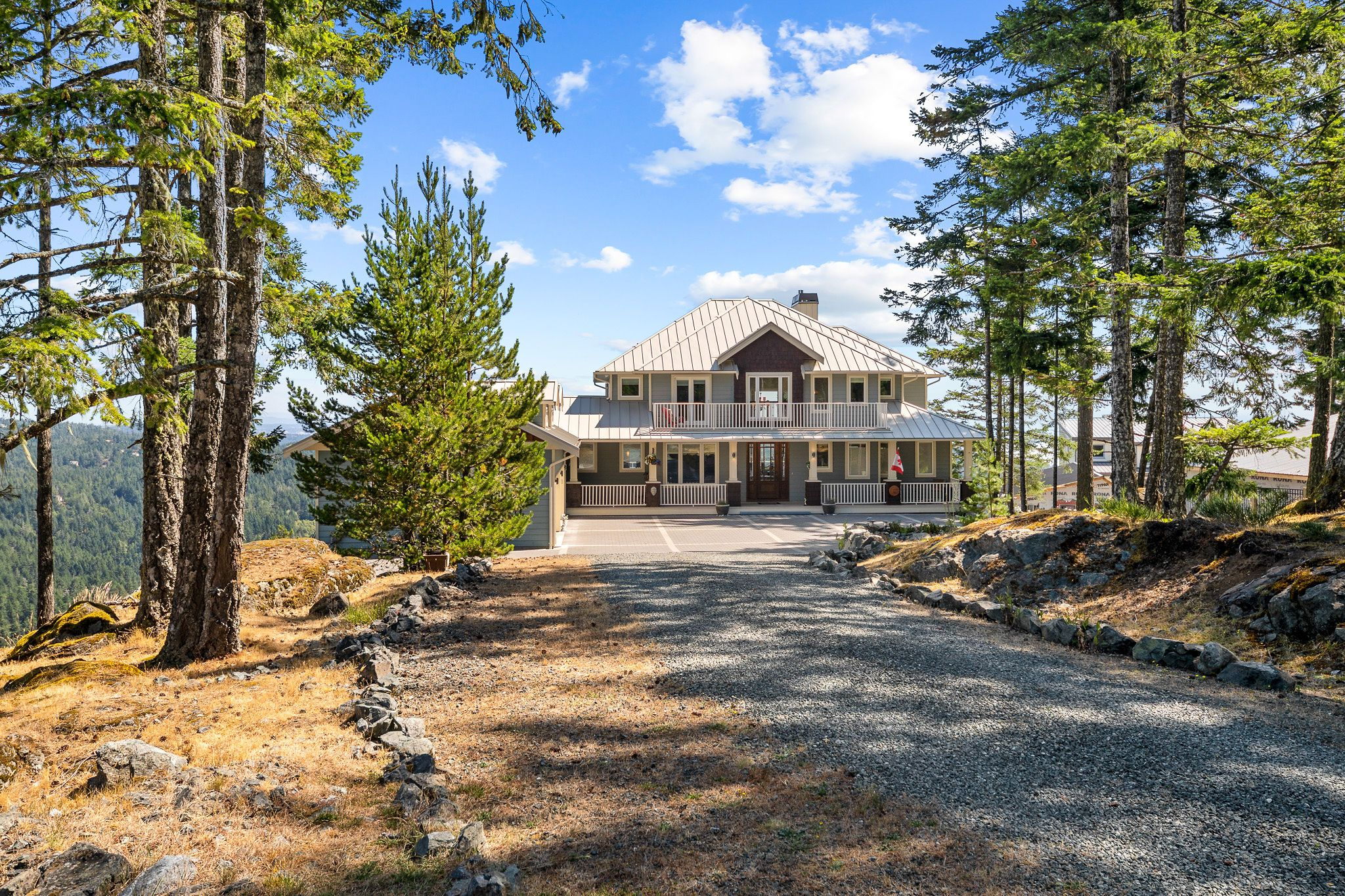 East Sooke Mountaintop View Acreage for sale: Mount Matheson Estates 5 bedroom 4,542 sq.ft. (Listed 2020-08-07)