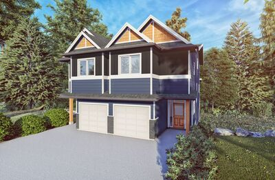 Brand New Duplex Under Construction in Sooke - 4 bed 3 bath, 1818 sq ft